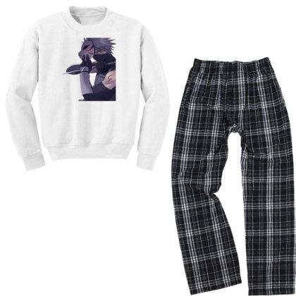 Anbu Kakashi Youth Sweatshirt Pajama Set Designed By Ibethmunte