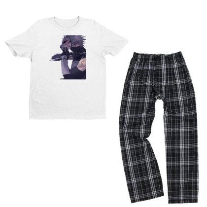 Anbu Kakashi Youth T-shirt Pajama Set Designed By Ibethmunte