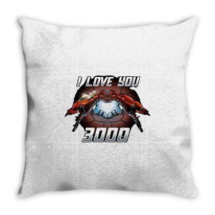 I Love You 3000 Stark Throw Pillow Designed By Moko