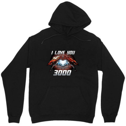 I Love You 3000 Stark Unisex Hoodie Designed By Moko