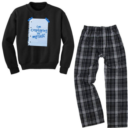 Alternative Cosplay Youth Sweatshirt Pajama Set Designed By Anis4