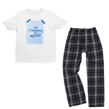 Alternative Cosplay Youth T-shirt Pajama Set Designed By Anis4
