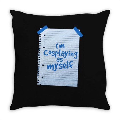 Alternative Cosplay Throw Pillow Designed By Anis4