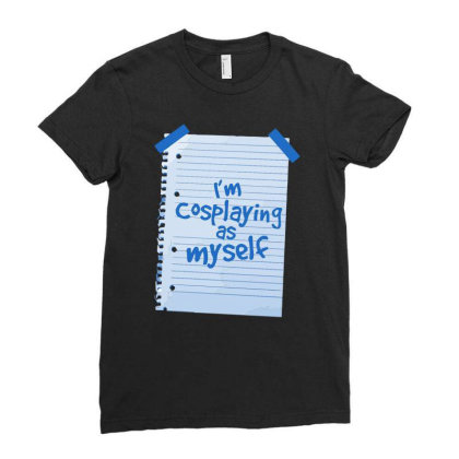 Alternative Cosplay Ladies Fitted T-shirt Designed By Anis4