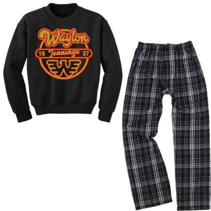 Flying W Youth Sweatshirt Pajama Set Designed By Shirt1na