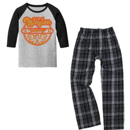 Flying W Youth 3/4 Sleeve Pajama Set Designed By Shirt1na