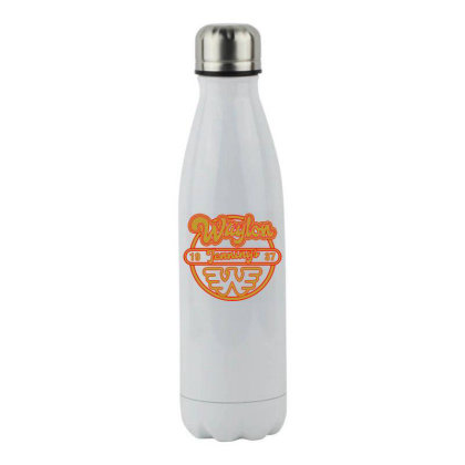 Flying W Stainless Steel Water Bottle Designed By Shirt1na