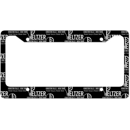 Peltzer License Plate Frame Designed By Cuser3237