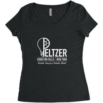 Peltzer Women's Triblend Scoop T-shirt Designed By Cuser3237