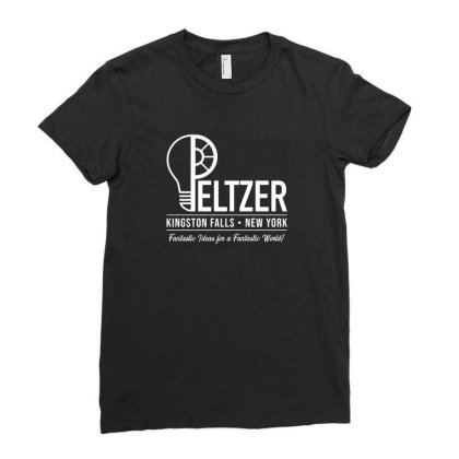 Peltzer Ladies Fitted T-shirt Designed By Cuser3237