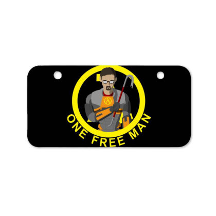 One Free Man Bicycle License Plate Designed By Cuser3237