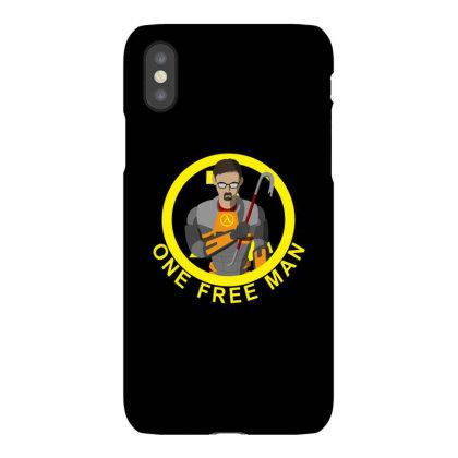 One Free Man Iphonex Case Designed By Cuser3237