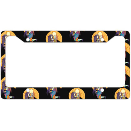 A Kiss Before Christmas License Plate Frame Designed By Cuser3244