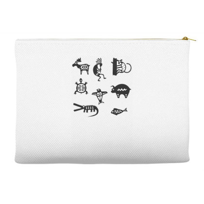 Animals Mayan Accessory Pouches Designed By Anis4