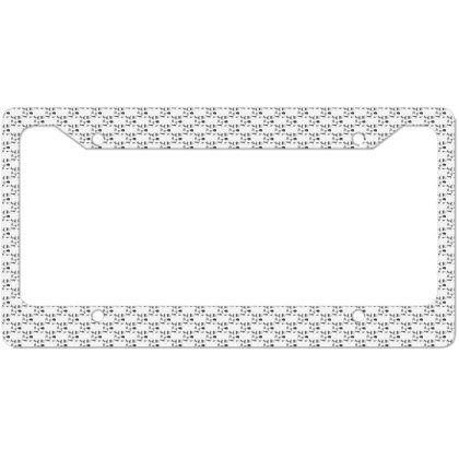 Animals Mayan License Plate Frame Designed By Anis4