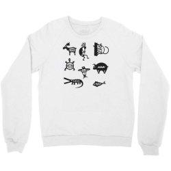 animals mayan Crewneck Sweatshirt | Artistshot