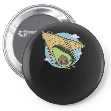 Avocado Delta Pin-back Button Designed By Anis4
