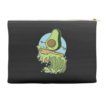 Avocado Surfer Accessory Pouches Designed By Anis4