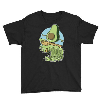 Avocado Surfer Youth Tee Designed By Anis4