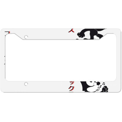 Felix The Cat Aesthetic Japan License Plate Frame Designed By 90stings