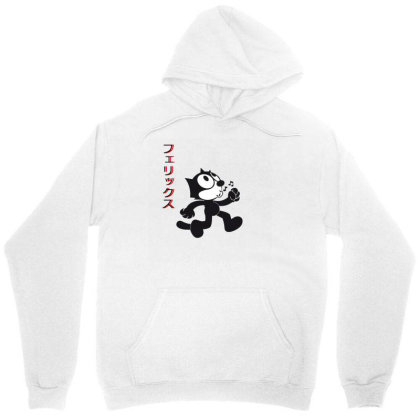 Felix The Cat Aesthetic Japan Unisex Hoodie Designed By 90stings