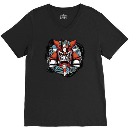 Barong Iii V-neck Tee Designed By Anis4