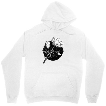 Midnight Magnolias Unisex Hoodie Designed By 90stings