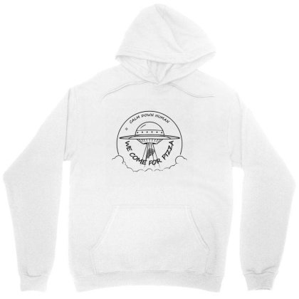 We Come For The Pizza Unisex Hoodie Designed By 90stings