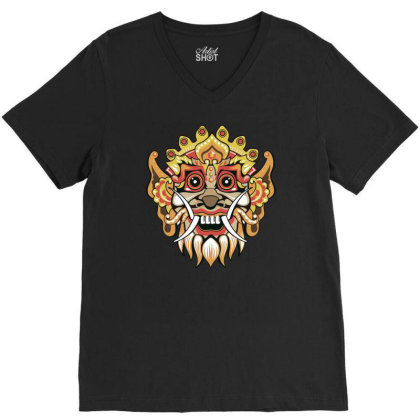 Barong V-neck Tee Designed By Anis4