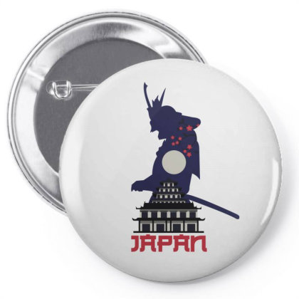Moon Samurai Pin-back Button Designed By 90stings