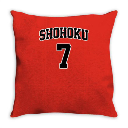 Basketball Team N°7 Throw Pillow Designed By Anis4