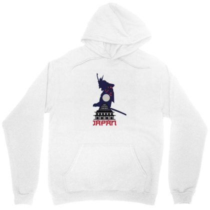 Moon Samurai Unisex Hoodie Designed By 90stings