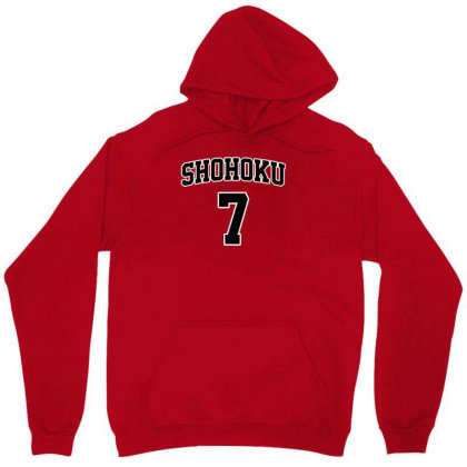Basketball Team N°7 Unisex Hoodie Designed By Anis4