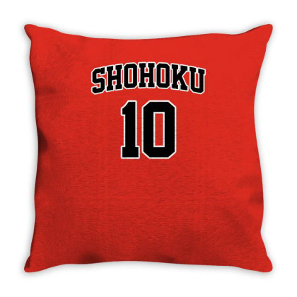 Basketball Team N°10 Throw Pillow Designed By Anis4