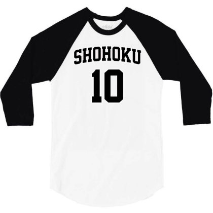 Basketball Team N°10 3/4 Sleeve Shirt Designed By Anis4