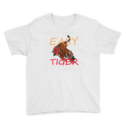Easy Tiger Youth Tee Designed By 90stings