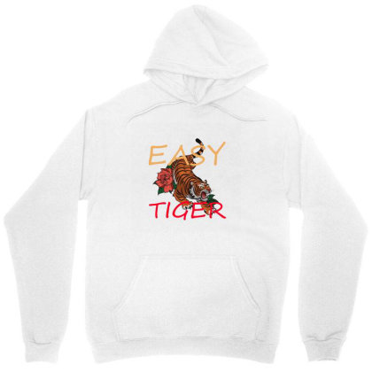 Easy Tiger Unisex Hoodie Designed By 90stings