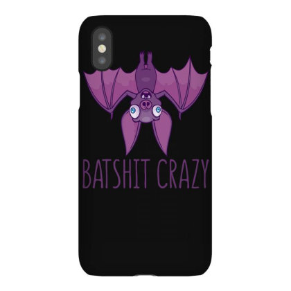Batshit Crazy Wacky Cartoon Bat Iphonex Case Designed By Anis4