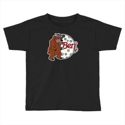 Bear With Microphone Toddler T-shirt Designed By Anis4