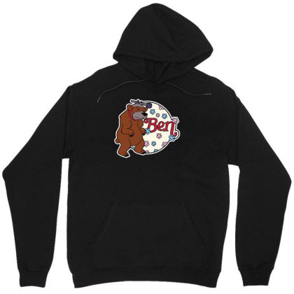 Bear With Microphone Unisex Hoodie Designed By Anis4