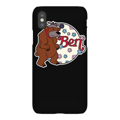 Bear With Microphone Iphonex Case Designed By Anis4