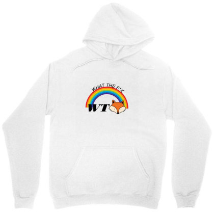 What The Fox Unisex Hoodie Designed By 90stings