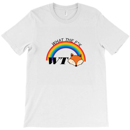 What The Fox T-shirt Designed By 90stings