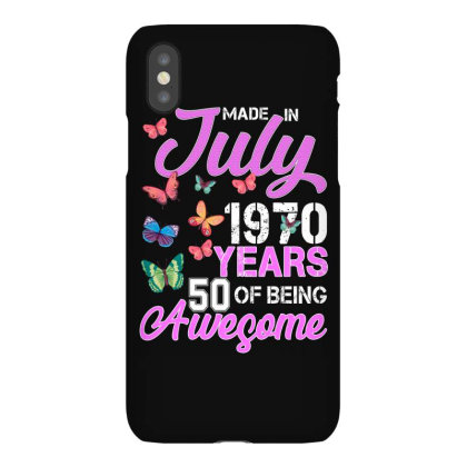 Made In July 1970 Years 50 Of Being Awesome For Dark Iphonex Case Designed By Sengul