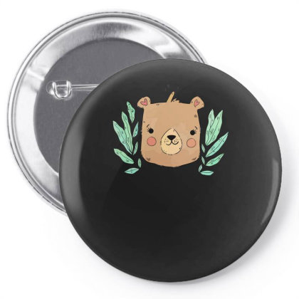 Bear Pin-back Button Designed By Anis4