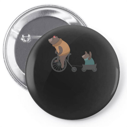 Bearbicycle Pin-back Button Designed By Anis4
