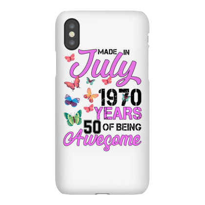 Made In July 1970 Years 50 Of Being Awesome For Light Iphonex Case Designed By Sengul