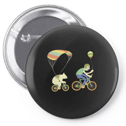 Bearcycle Pin-back Button Designed By Anis4
