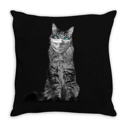 Paramedic Cat Throw Pillow Designed By Gurkan