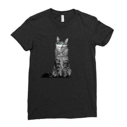 Paramedic Cat Ladies Fitted T-shirt Designed By Gurkan